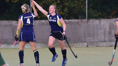 Sarah Daley scored a cracker for the Suffolk side