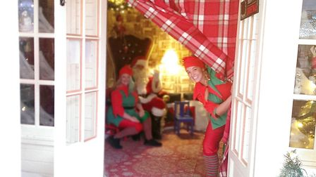 Father Christmas and his elves will visit Bury St Edmunds from December 2. Picture: OURBURYSTEDMUNDS