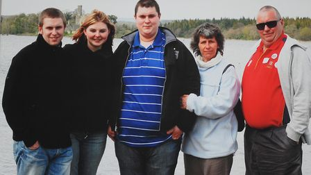Jayne Jones, mum of Aiden Jones who was killed by drink driver in 2009. Picture: FAMILY PHOTO