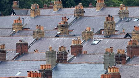 Average house prices have fallen in the past three months. Picture: TIM GOODE/PA WIRE