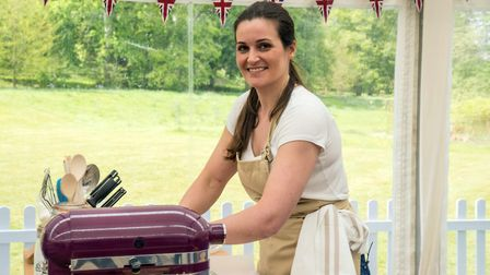 Sophie, original ly from Suffolk but now living in Surrey, taking part in the new series of The Gre