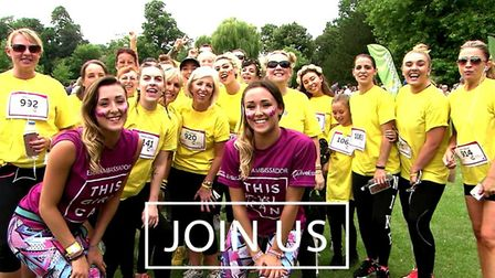 This Girl Can Essex inspires women across the county to get Active. Picture: THIS GIRL CAN ESSEX