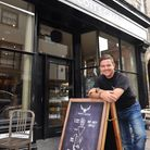 Scott Russell of Paddy and Scotts at their flagship cafe in Bury St Edmunds. Photo: Lucy Taylor Pho