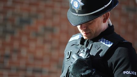 Police are investigated an early morning robbery in Ipswich. Picture: ARCHANT LIBRARY