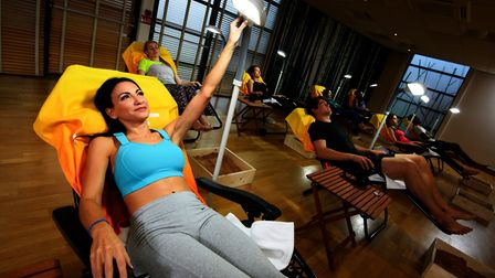 Be part of the happiest exercise class. Picture: DAVID LLOYD