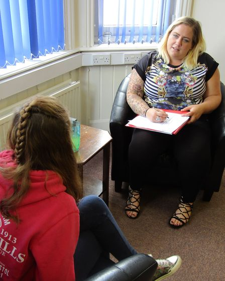 Suffolk Young People's Health Project (4YP) had to lay on an extra 212 counselling sessions last yea