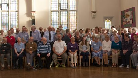 Members of Trianon Music Group and their partner choir the Anglia Singers are holding a series of co