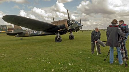 The film tells the unique history of the Suffolk air base. Picture: KEITH RIMMER