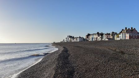 Aldeburgh in the sunshine. Picture: SARAH LUCY BROWN