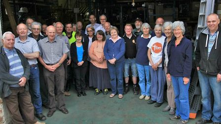 Could you join them? Tools with a Mission volunteers. Picture: ROGER EYRE