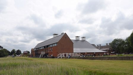 Snape Maltings, which will still host The Golden Dragon opera this weekend. Picture: SARAH LUCY BRO
