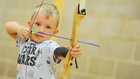 Archery will be among the activities on offer during half term. Picture: SARAH LUCY BROWN
