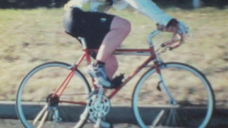 Brian Rowson is desperate to get his beloved bike 'Ed' back. Picture: CONTRIBUTED