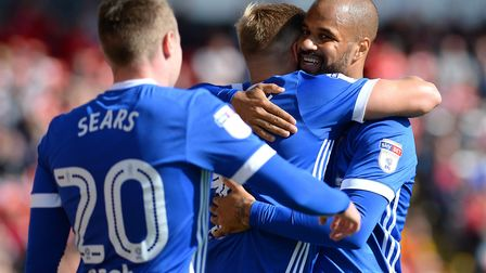 David McGoldrick has been in in fine form for Town this season. Picture: PAGEPIX LTD