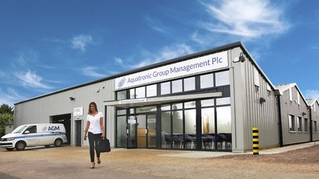 Renzland House, Aquatronic Group Management's new building at Copford, Colchester. Picture: Pat Sto