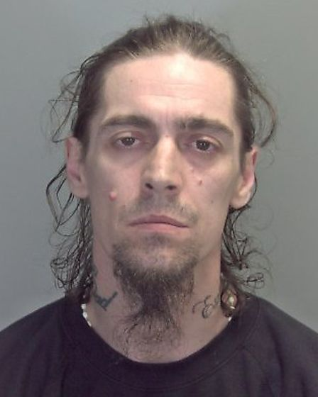 Jason Grimes, who pleaded guilty to drug offences in Lowestoft. Picture: SUFFOLK CONSTABULARY
