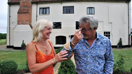 Darsham Old Hall luxury B&B owners Jude and Paul Rylott. Picture: CONTRIBUTED
