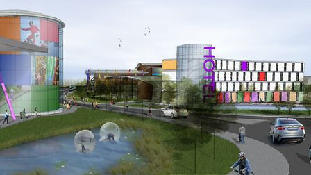 An artist's impression of the new Northern Gateway scheme. Picture: CONTRIBUTED