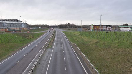 The A12 at Colchester. Picture: SARAH LUCY BROWN