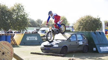 The Copdock Motorcycle Show returns to Trinity Park, Ipswich, this Sunday. Picture: RUTH LEACH