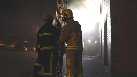 Firefighters were called to a flat in Colchester (stock image). Picture: SARAH LUCY BROWN