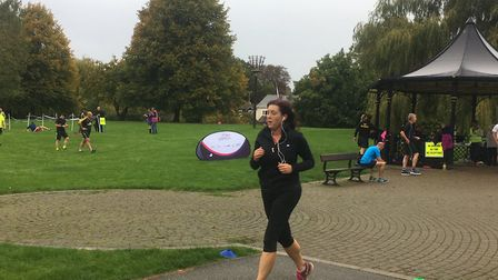 Out for a stroll: The scene of the March Parkrun last weekend