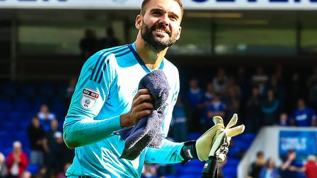 Keeper Bartosz Bialkowski is one of several Ipswich Town players in the final year of his contract.
