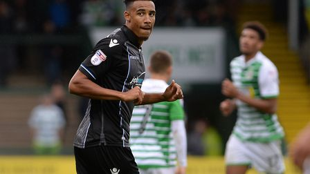 Kurtis Guthrie on his return to the U's team as an injury-time substitute at Yeovil on Saturday. Pic