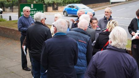 Suffolk Coastal District Council planning committee site visit. Picture: TOM POTTER