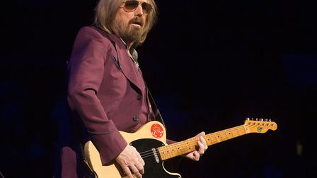"""Tom Petty of Tom Petty and the Heartbreakers performs during their """"40th Anniversary Tour"""" in Philad"""