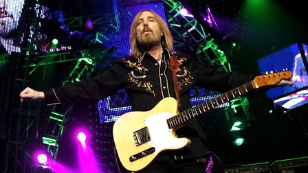 Tom Petty performs with The Heartbreakers at Madison Square Garden in New York, 2008. Picture: JASON