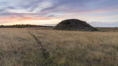 Sutton Hoo's burial mounds will be the focus of a new �4m project to tell the stories of the world f