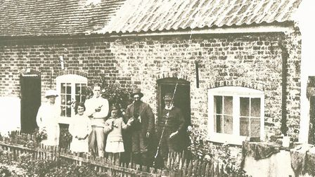 The way it was - marsh keepers lived in a cottage on Havergate Island that is now long gone. Picture