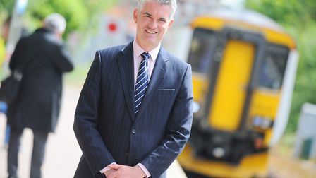 South Suffolk MP James Cartlidge has campaigned for part-time season tickets. Picture: GREGG BROWN.