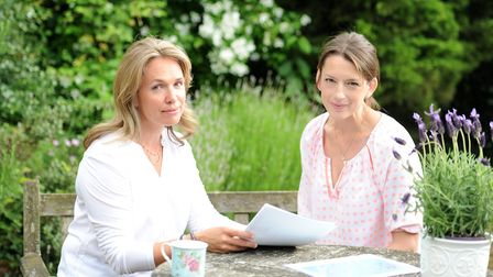 Katie Lawson and Lucy Flack, founders of a new parenting organisation called Huddl. Picture: SARAH