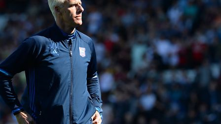 Mick McCarthy and Ipswich Town will be on Sky TV against Sheffield Wednesday on November 22. Picture