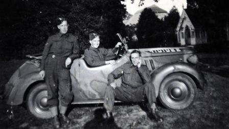 Mr Baker joined the territorial army aged 18. Picture: CONTRIBUTED