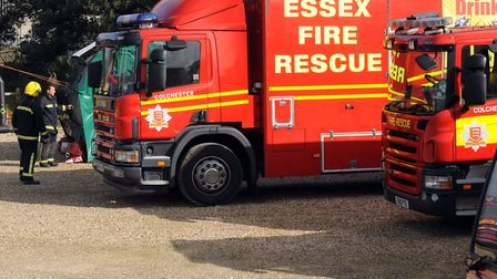 Essex Fire and Rescue said it had been alerted to the incident. Picture: ANDREW PARTRIDGE