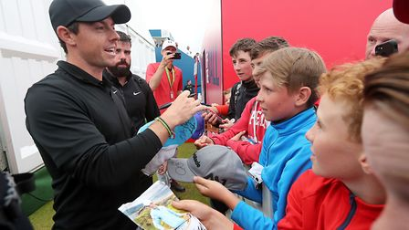 Rory McIlroy has revealed that he's never liked Roy Keane since he snubbed him for an autograph as a