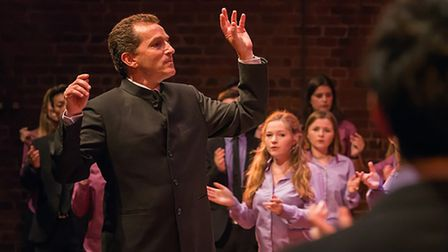 The National Youth Choirs of Great Britains director Ben Parry. Photo: Contributed