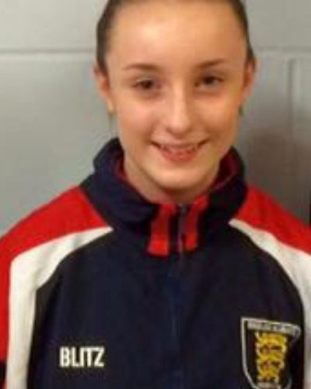 Karate player Charlotte Hope from Clacton on Sea