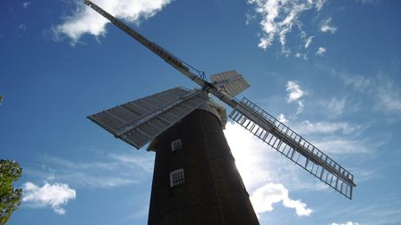 Part of the Woodbridge skyline - historic Buttrum's windmill is on the market for the first time in