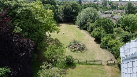 The view from the top of the six-storey mill in Burkitt Road, Woodbridge. Picture: NEALS