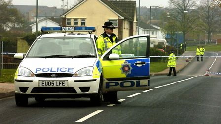 Stock image of police in Coldnailhurst Avenue, Braintree. Picture: ANDREW PARTRIDGE