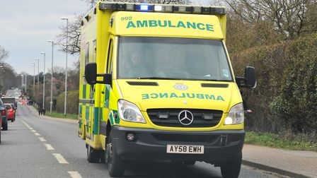 Paramedics rushed to the scene but were unable to save Cameron, who later died in hospital. Picture: