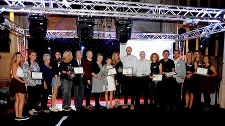 All the winners at the West Suffolk Sports Awards 2017. Picture: SUZY ABBOTT