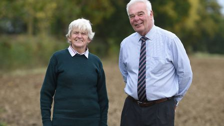 Sally Fogden, who is Suffolk farm chaplain, has been chair of the Suffolk branch of FCN (Farming Com