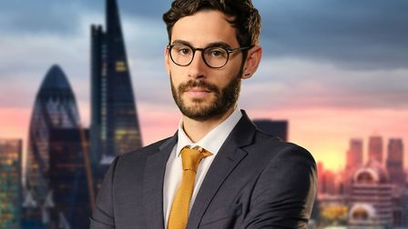 Lord Sugar will see you now. Chelmsford's Ross Fretten takes part in The Apprentice this year. Photo