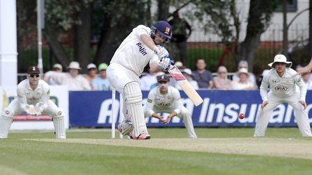 Nick Browne ended the day on 53 for Essex against Yorkshire. Picture: ARCHANT