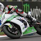 Danny Buchan in action at Oulton Park. Picture: ERIC O'BRIEN